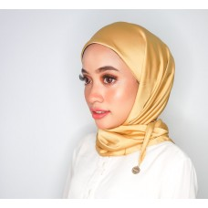 CALI Semi Instant Shawl with Inner (Satinsilk - Gold Sunkissed)