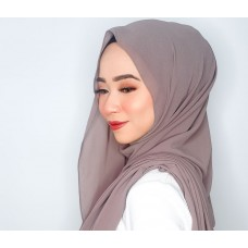 Instant Shawl Embellished (Casual Series) : Taupe