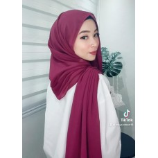 Instant Shawl Embellished (Casual Series) : Blackcurrant
