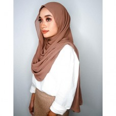 Instant Shawl Embellished (Casual Series) : Cocoa