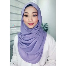 Instant Shawl Embellished (Casual Series) : Lilac