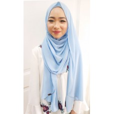 Instant shawl Luxe V1 (Blue Yonder)