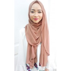Instant shawl Luxe V1 (Cinnamon)
