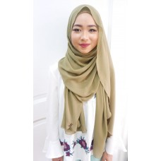 Instant shawl Luxe V1 (Olive)
