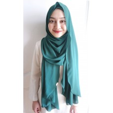 Instant shawl Luxe V1 (Hunter Green)