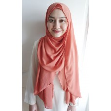 Instant shawl Luxe V1 (Melon Popsicle)