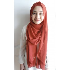 Instant shawl Luxe V1 (Burnt Amber)