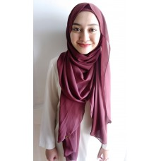 Instant shawl Luxe V1 (Aubergine)