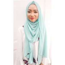Instant shawl Luxe V1 (Mint Smoothie)