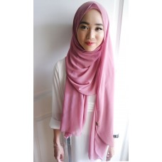 Instant shawl Luxe V1 (Berry Crush)