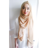 Instant shawl Luxe V1 (Peanut Butter)