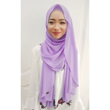 Instant shawl Luxe V1 (Lily Lavender)