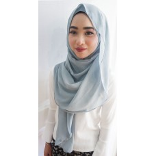 Instant shawl Luxe V1 (Ash Blue)
