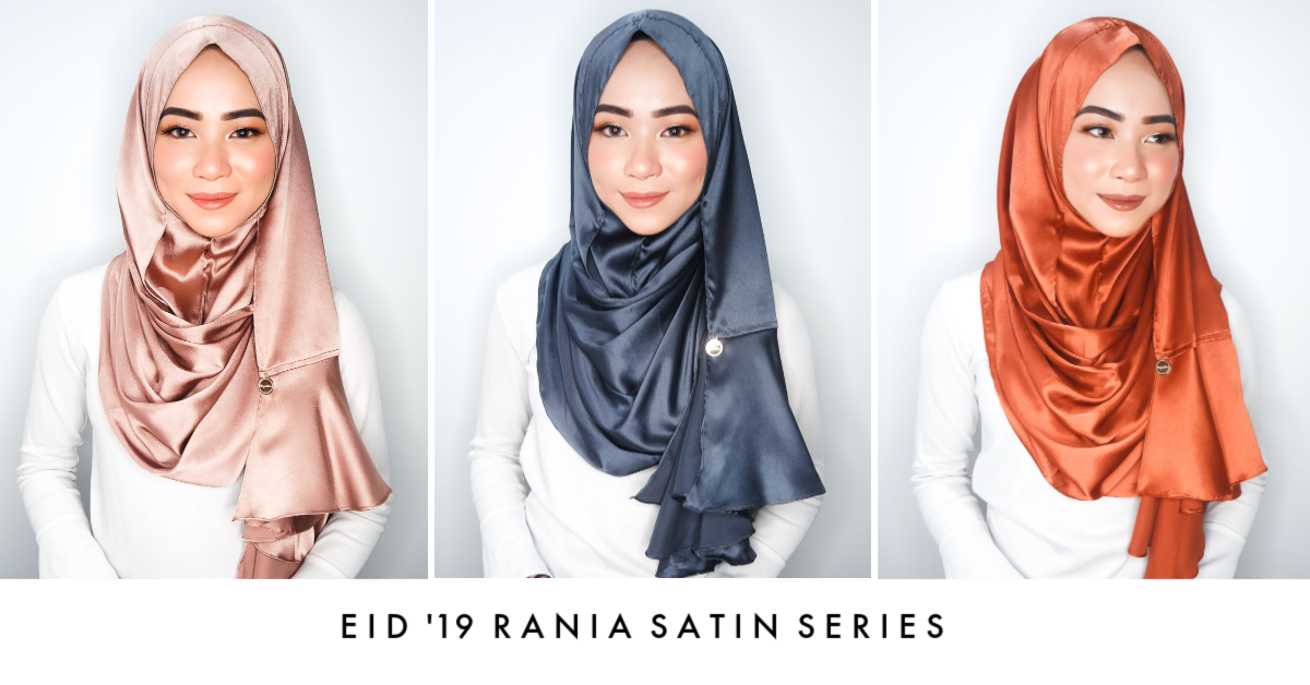 EID 19 Rania satin series