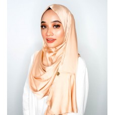 Instant shawl Rania (Pearl series: Just peachy)