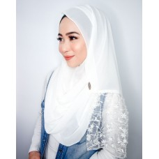 Instant shawl Rania (Lace series: Snow White)