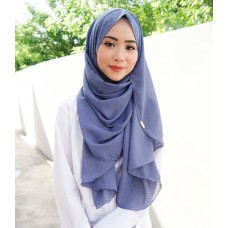 Instant shawl Faith (Shimmer series: Purple Wisteria)