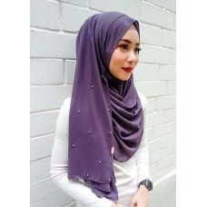 Instant shawl 1.0 (Pearl series: Mangosteen)