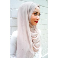 Instant shawl 1.0 (Pearl series: Just beige)
