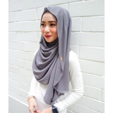 Instant shawl Luxe V2 (Smoke Grey)
