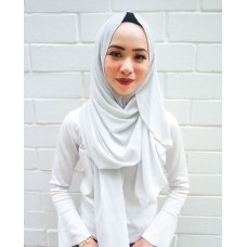 Instant Shawl Faith (Light Grey)