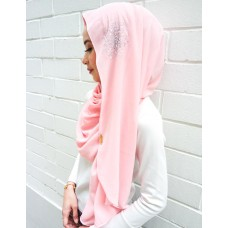 Instant shawl Luxe V2 (Crystal series: Cherry Blossom)