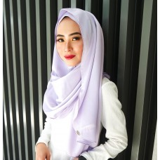 Instant shawl Luxe V2 (Lush Satin series) : Lavender