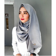 Instant shawl Luxe V2 (Lush Satin series) : Smoke Grey