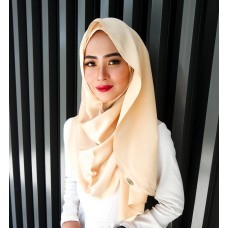 Instant shawl Luxe V2 (Lush Satin series) : Gold Honey