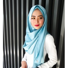 Instant shawl Luxe V2 (Lush Satin series) : Caribbean
