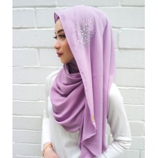 Instant shawl Luxe V2 (Crystal series: Lilac)