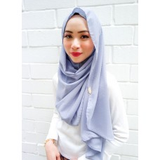 Instant shawl Luxe V2 (Shimmer series : Grey Cloud)