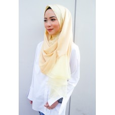 Instant Shawl Rania (Organza Series:  Honey Gold)