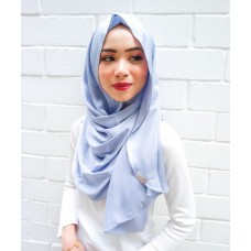 Instant shawl Luxe V2 (Lush Satin series) : Cloud Grey
