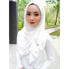 Instant shawl Luxe V2 (Lush Satin series) : Marshmallow