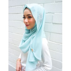Instant shawl Luxe V2 (Crystal series: Tiffany)