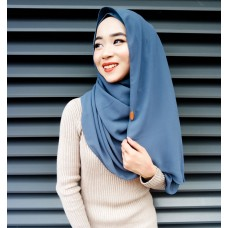 Instant shawl Luxe V2 (Smokey Blue)