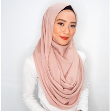 Snood (Mixed Crepe: Nude Blush)