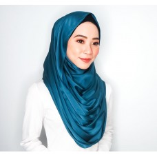 Snood (Satin Silk: Teal)