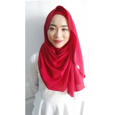 Instant shawl Luxe V2 (Poppy Red)
