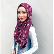 Instant Shawl Luxe V2 Printed Satin (Liv)