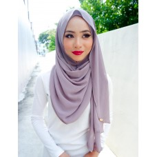 Instant shawl Luxe V2 Chiffon (Berries Smoothie)