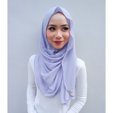 Instant shawl Luxe V2 Chiffon (Grape Yoghurt)