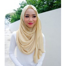 Instant shawl Luxe V2 Chiffon (Gold Sunkissed)