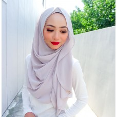 Instant shawl Luxe V2 Chiffon (Just Beige)
