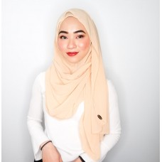 Instant shawl Luxe V2 Chiffon (Cremeschnitte)