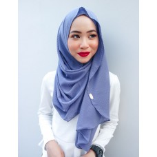 Instant shawl Luxe V2 (Shimmer series : Purple Wisteria)