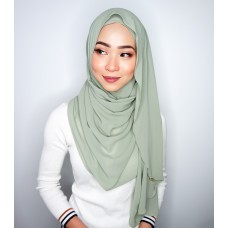 Instant shawl Luxe V2 Chiffon (Sage Green)