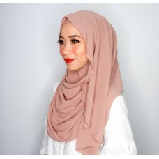 Instant shawl Luxe V2 Chiffon (Wood Rose)