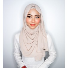 Instant shawl Luxe V2 Chiffon (Nude Beige)